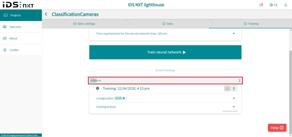 IDS社製 NXTカメラでAIを実践25