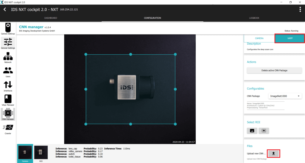 IDS社製 NXTカメラでAIを実践29