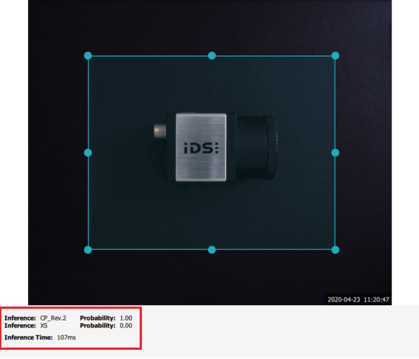 IDS社製 NXTカメラでAIを実践31