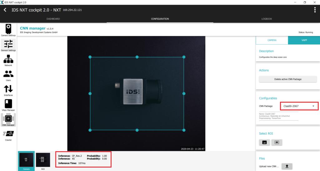 IDS社製 NXTカメラでAIを実践30