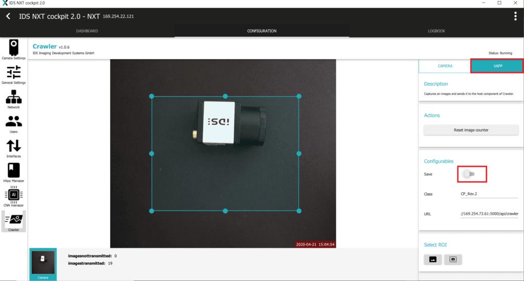 IDS社製 NXTカメラでAIを実践09