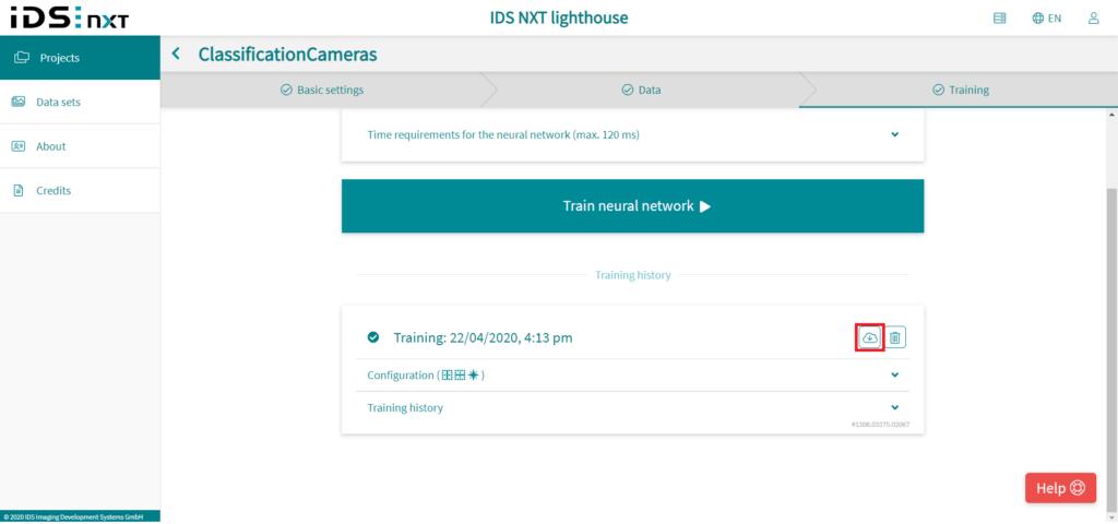 IDS社製 NXTカメラでAIを実践26