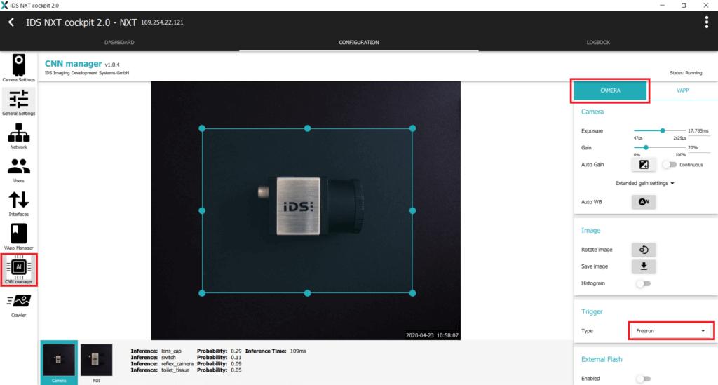 IDS社製 NXTカメラでAIを実践28