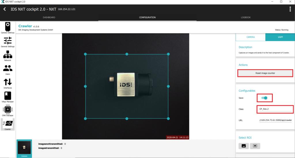 IDS社製 NXTカメラでAIを実践07