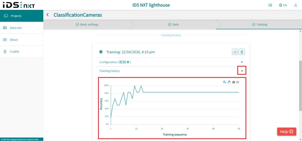 IDS社製 NXTカメラでAIを実践27